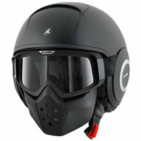 Shark DRAK Open Faced Helmet (Matt Black)