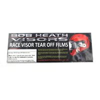 Bob Heath Arai Visor Tear Off's VAS V Type Fits RX-7V, RX-7X, Corsair