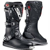 Sidi  Courier / Discovery Motorcycle Boots (Microfiber) Black