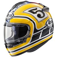 Arai Chaser-X Motorcycle Helmet Edwards Legend (Yellow)