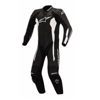 Alpinestars Challenger One Piece Leathers (Black/White)
