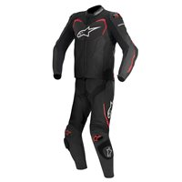 Alpinestars GP Pro 2 Piece Motorcycle Leathers (Black/Red)