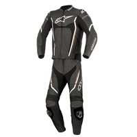 Alpinestars Motegi v2 2 Piece Motorcycle Leathers (Black/White/Red)