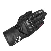 Alpinestars SP-8 Ladies Motorcycle Gloves (Black/Fuschia)