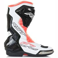 RST Pro Series Motorcycle Race Boot 1503 (Flo Red/White/Black)