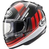 Arai Chaser-X Motorcycle Helmet Fence (Red)