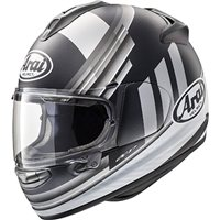Arai Chaser-X Motorcycle Helmet Fence (Silver)