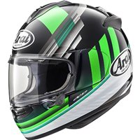 Arai Chaser-X Motorcycle Helmet Fence (Green)