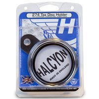 Halcyon  Licence Holder 274 S-Sreel Chrome/Brass Rim Waterproof