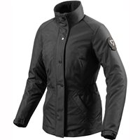 Revit Stockholm Ladies Motorcycle Jacket (Black)