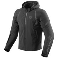 Revit Burn Motorcycle Jacket (Black)
