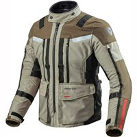 Sand 3 Textile Motorcycle Jacket (Sand-Black) by Revit