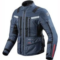 Revit Sand 3 Textile Motorcycle Jacket (Dark Blue-Black)