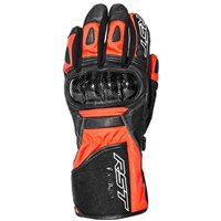 RST Rallye CE 2134 Motorcycle Glove (Fluo Red)
