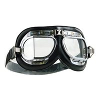 Halcyon Aviator Motorcycle Goggles MK4 - (Chrome|Black)