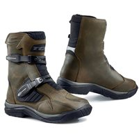 TCX Baja Mid Length Waterproof Motorcycle Boot (Brown)