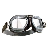 Halcyon Aviator Goggles MK9 Vented Grey/Brown