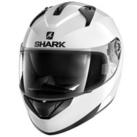 Shark Ridill Motorcycle Helmet (Gloss White)