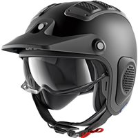 Shark X-DRAK Open Face Helmet (Mat Black)
