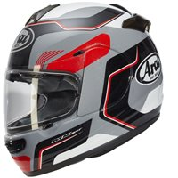 Arai Axces III Sense Motorcycle Helmet (Grey|Red)