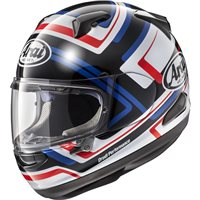 Arai QV Charged Blue Motorcycle Helmet