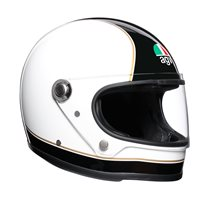 AGV Legends X3000 SUPER AGV Helmet (Black/White)