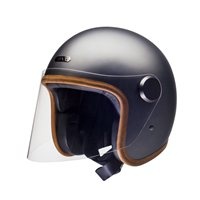 Hedon Epicurist Ash Open Faced Helmet (Silver)