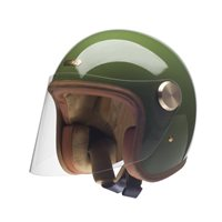 Hedon Epicurist Cactus Open Faced Helmet (Green)