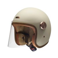 Hedon Epicurist Creme Open Faced Helmet (Cream)