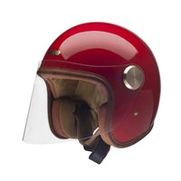 Hedon Epicurist Rouge Open Faced Helmet (Gloss Red)
