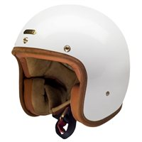Hedon Hedonist Open Faced Helmet Knight White (White)
