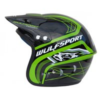 Wulfsport Tri-Action Helmet (Green)