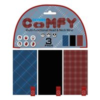 Oxford Comfy Plaid Multitube 3-Pack