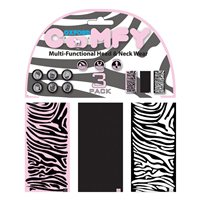 Oxford Comfy Zebra Multitube 3-Pack