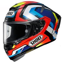 Shoei X-Spirit 3 Brink TC-1 Helmet (Red|Blue|Yellow)