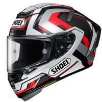 Shoei X-Spirit 3 Brink TC-5 Helmet (Silver|Red|Black)