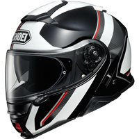 Shoei Neotec 2 Flip Front Helmet Excursion TC6 (Black|White)