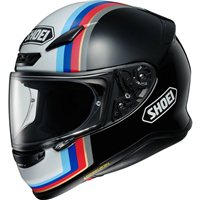 Shoei NXR Recounter TC10 Motorcycle Helmet (Black|White|Blue)