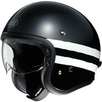 Shoei J.O Open Faced Helmet Sequel TC-5 (Black)