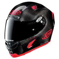 X-Lite X-803 Ultra Carbon PURO SPORT Helmet (Carbon/Red)