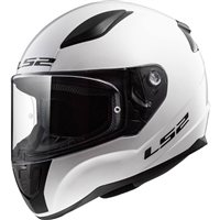 LS2 FF353 Rapid Motorcycle Helmet (Gloss White)