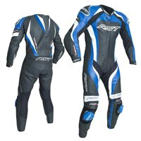 RST Tractech Evo 3 One Piece Leathers (Black|Blue) 2041