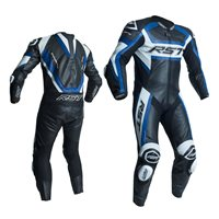 RST Tractech Evo R One Piece Leathers (Black|Blue) 2054