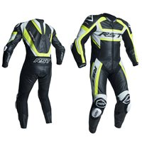 RST Tractech Evo R One Piece Leathers (Black|Flo Yellow) 2054
