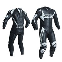 RST Tractech Evo R One Piece Leathers (Black|White) 2054