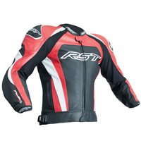 RST Tractech Evo 3 CE Leather Jacket 2051 (Black|Red)