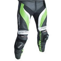RST Tractech Evo 3 CE Leather Trouser 2052 (Black|Green)