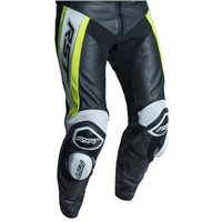 RST Tractech Evo R CE Leather Trouser 2053 (Black|Flo Yellow)