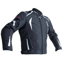 RST R-18 CE Textile Jacket 2071 (Black|White)