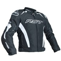 RST Tractech Evo III CE Textile Jacket 2060 (Black|White)